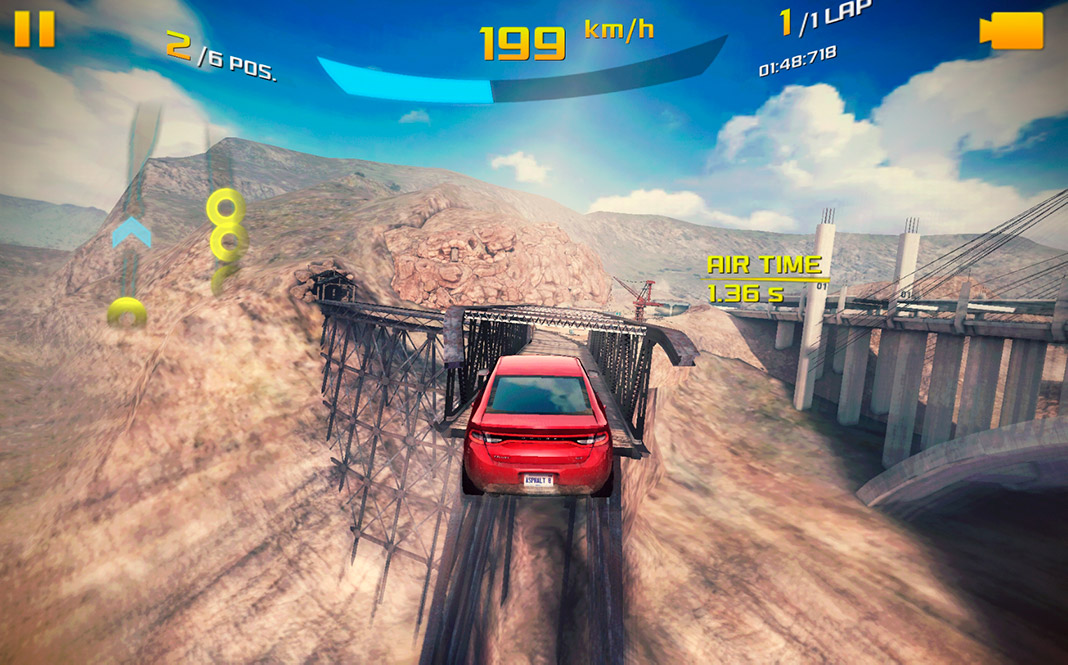 asphalt 8 airborne screenshot 1 The best racing games available on Android