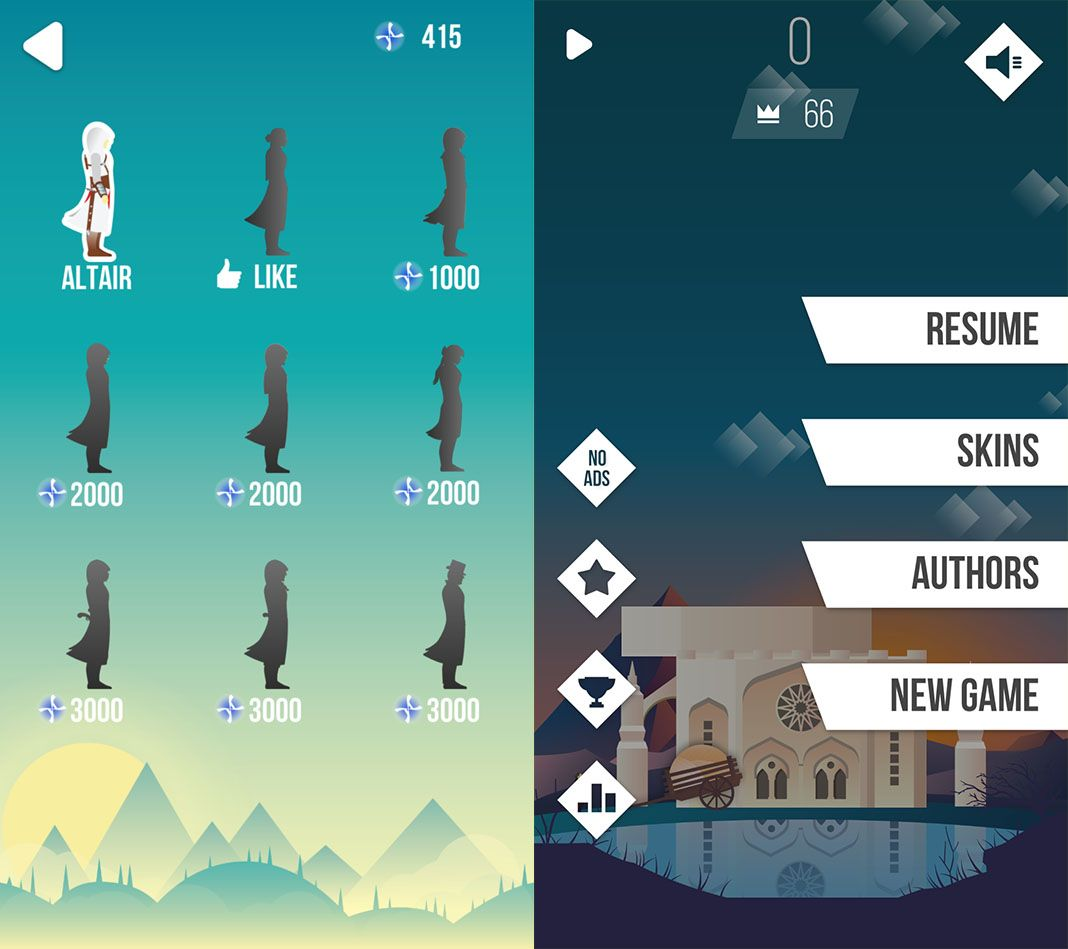 assassins creed tower 2 Ketchapp lanza un juego de Assassin's Creed para Android