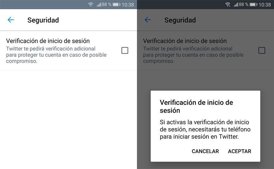 autentificacion twitter Qué es y cómo activar la verificación en dos pasos en tus apps