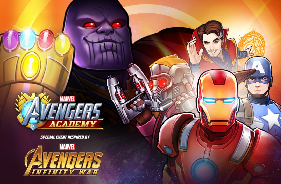 avengers academy screenshot Thanos llega a Android: Los juegos de Marvel se actualizan por Infinity War