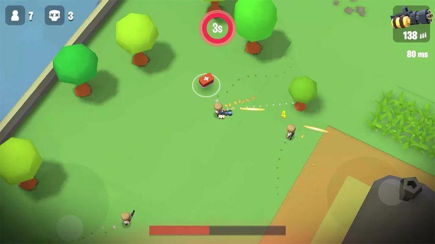Battlelands Royale screenshot mejores battle royale Android