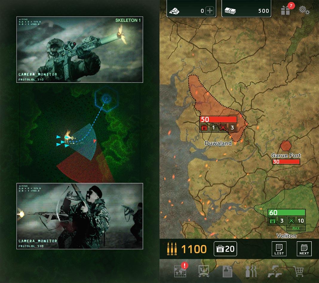 black command screenshot 1 Capcom lanza Black Command, estrategia militar para Android
