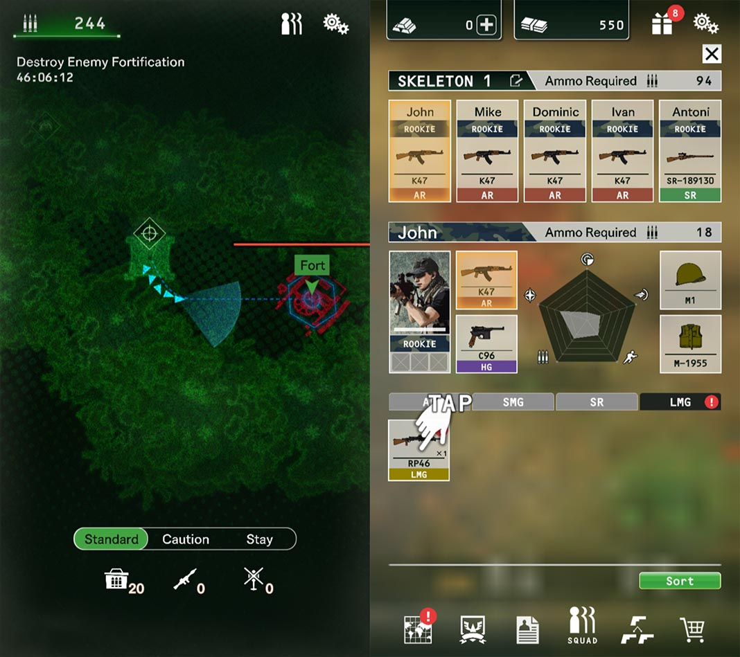 black command screenshot 2 Capcom lanza Black Command, estrategia militar para Android