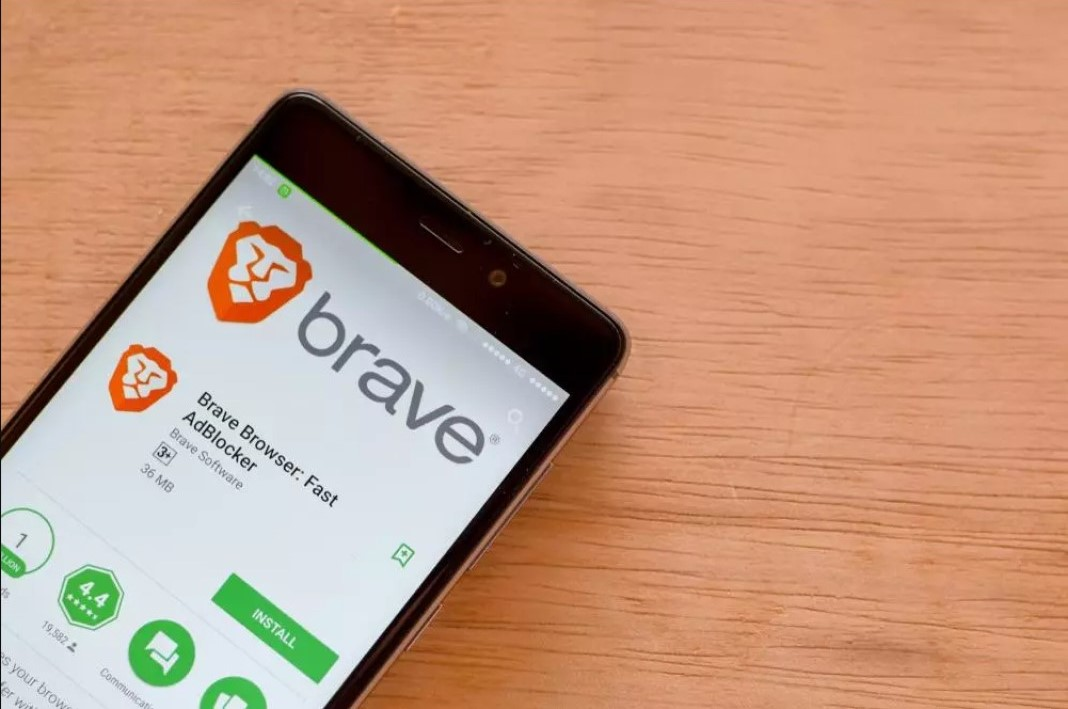 Brave Browser install screen