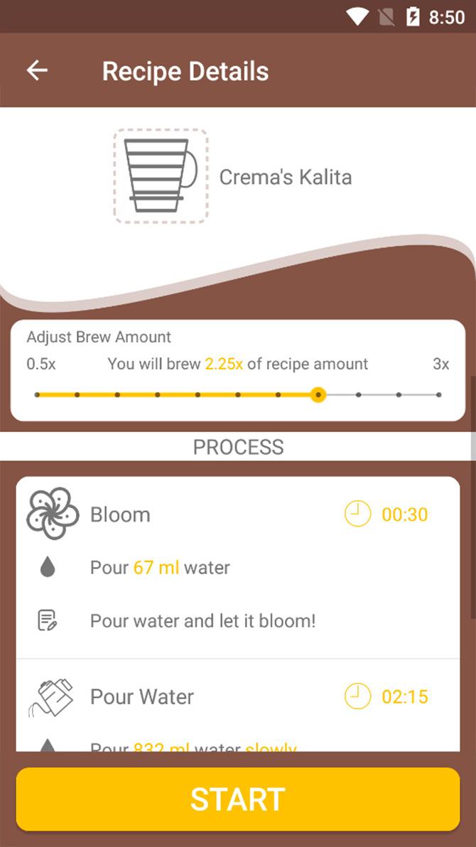 Brew Timer app