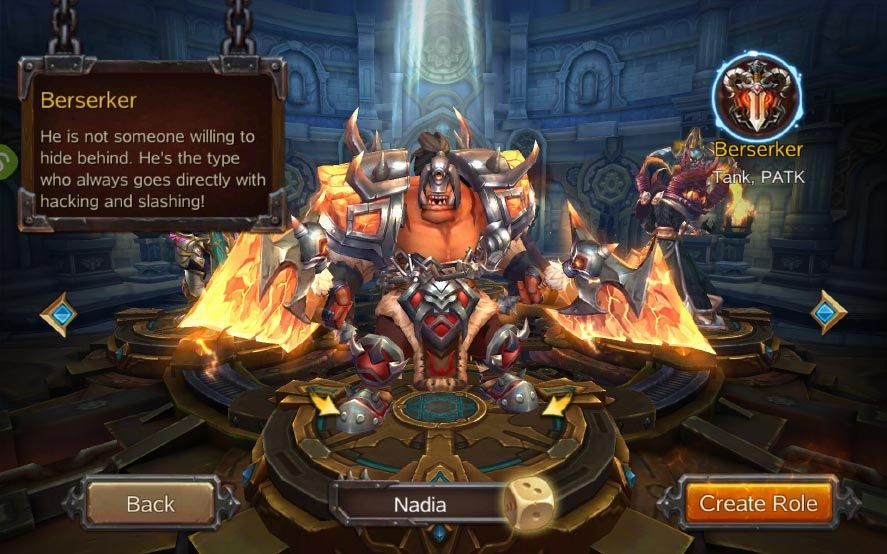 Burning Blood: A mini World of Warcraft clone for Android