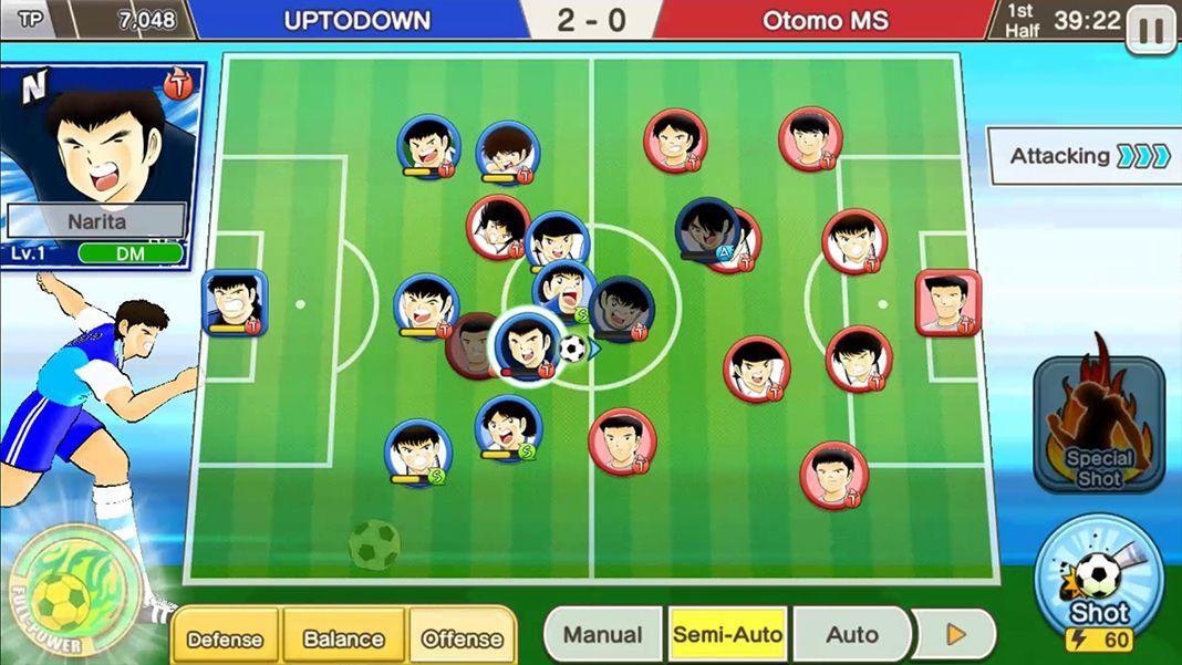 captain tsubasa dream team screenshot 2 Captain Tsubasa: Dream Team ya está disponible en todo el mundo
