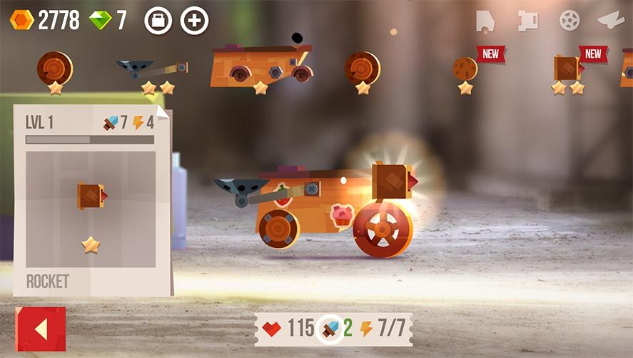 cats screenshot 2 CATS: Crash Arena Turbo Stars is the latest from the people behind Cut the Rope