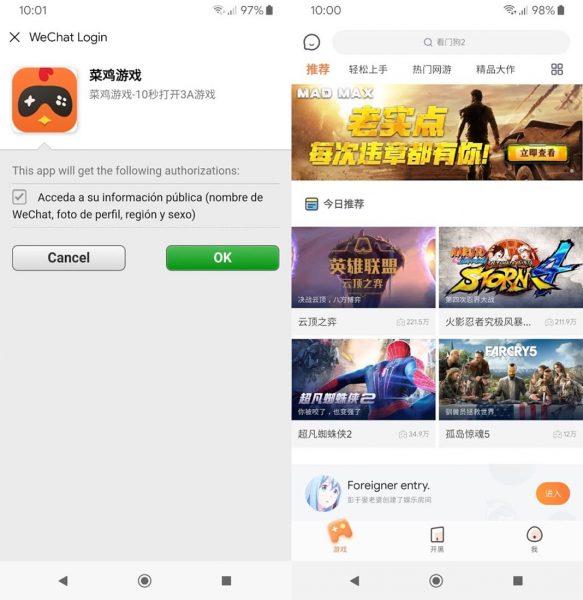 """chicken game 2 Chicken Game, """"el Google Stadia chino"""""""