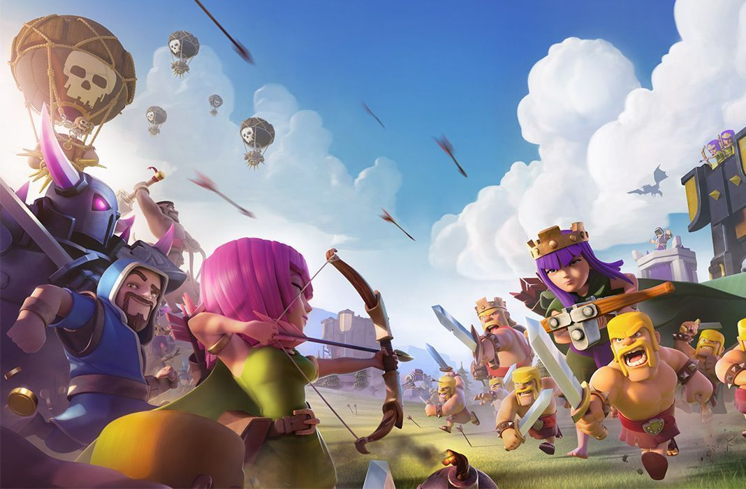Clash of Clans cinco anos