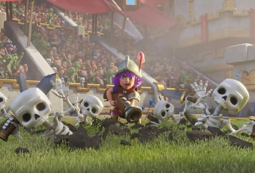clash royale balance featured 1 Clash Royale reduces the power of the Night Witch in new balance update
