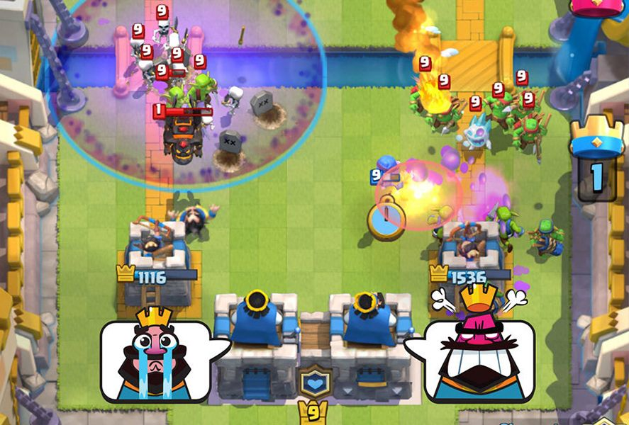 Batallas de Clanes de Clash Royale