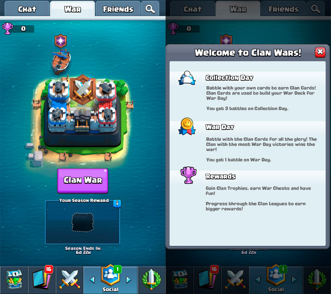 Clash Royale Clan Wars