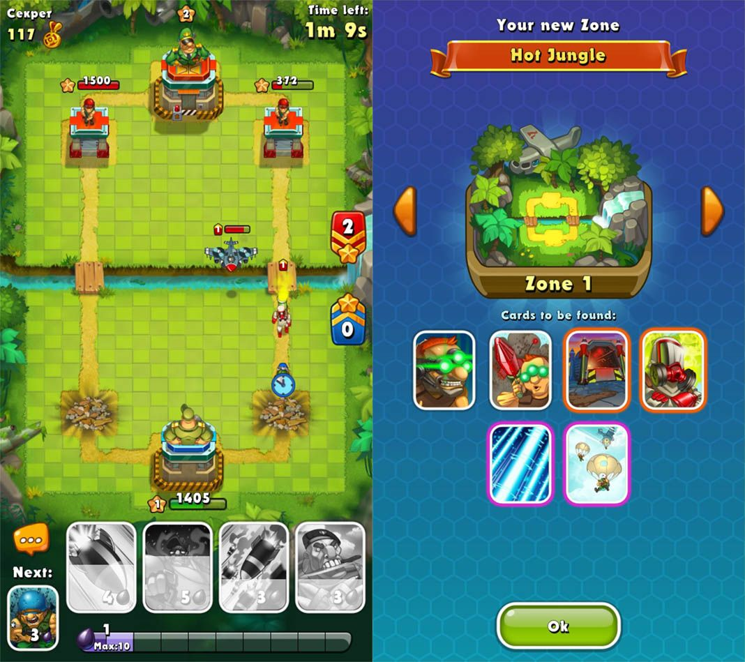 clash royale clones jungle The Best Alternatives for Clash Royale on Android