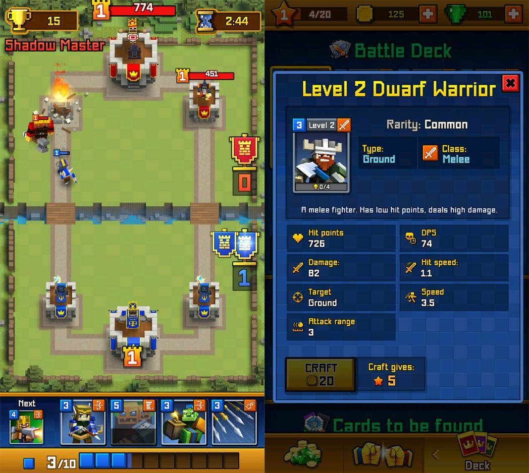 clash royale clones royale clans The Best Alternatives for Clash Royale on Android