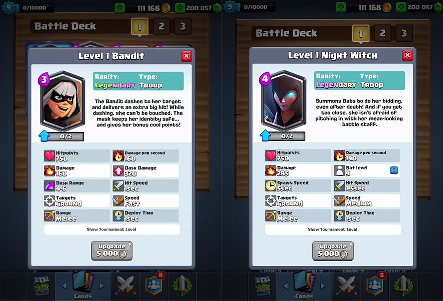 clash royale ligas screenshot Clash Royale rolls out loads of novelties that shake up the game