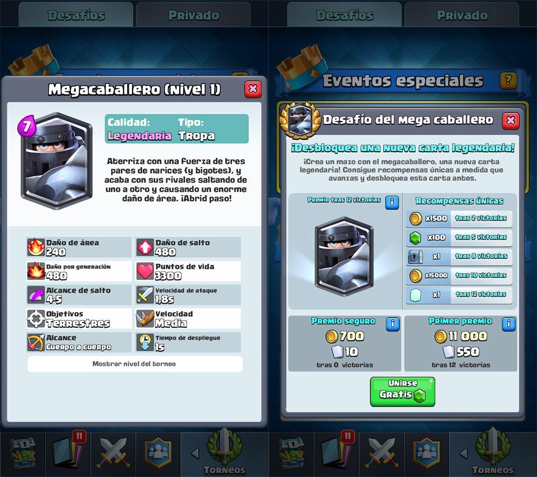 Clash Royale Mega Caballero