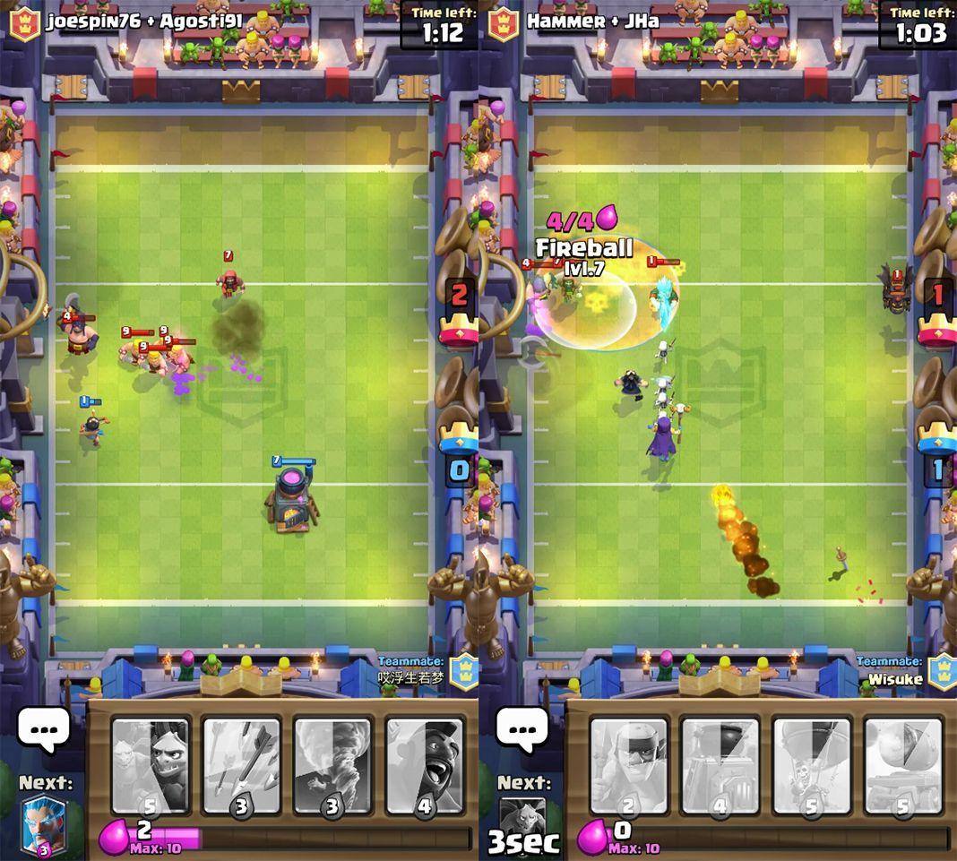 clash royale touchdown consejos