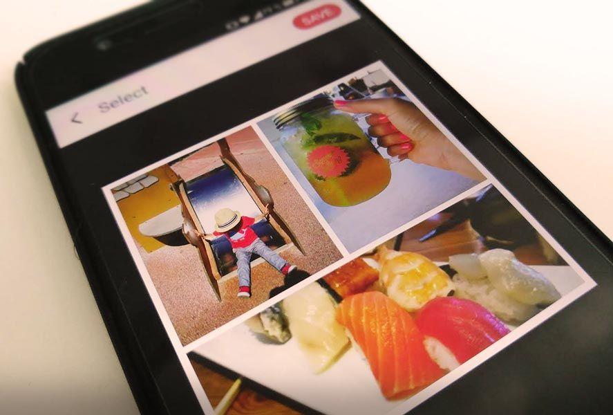 collage maker screenshot 1 Photo Grid Editor es un útil y sencillo creador de fotomontajes
