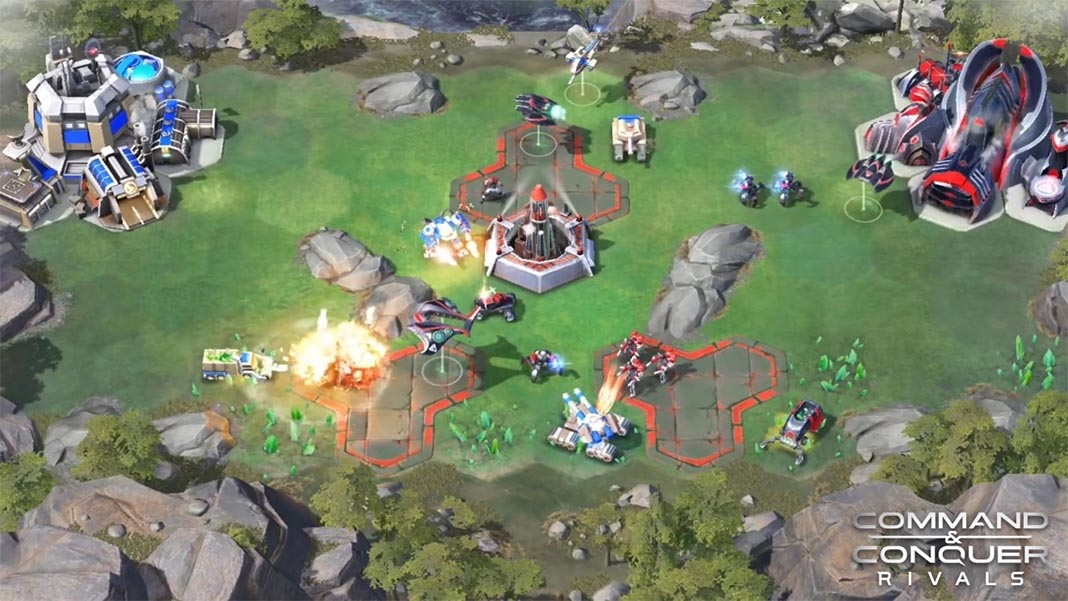 command conquer rivals screenshot EA presenta en el E3 Command & Conquer Rivals para Android