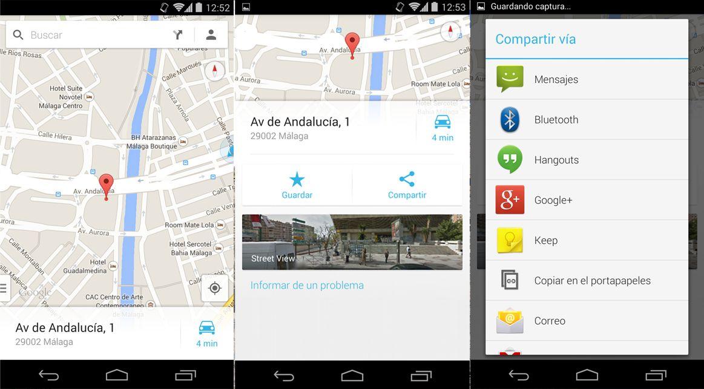 compartir ubicación android