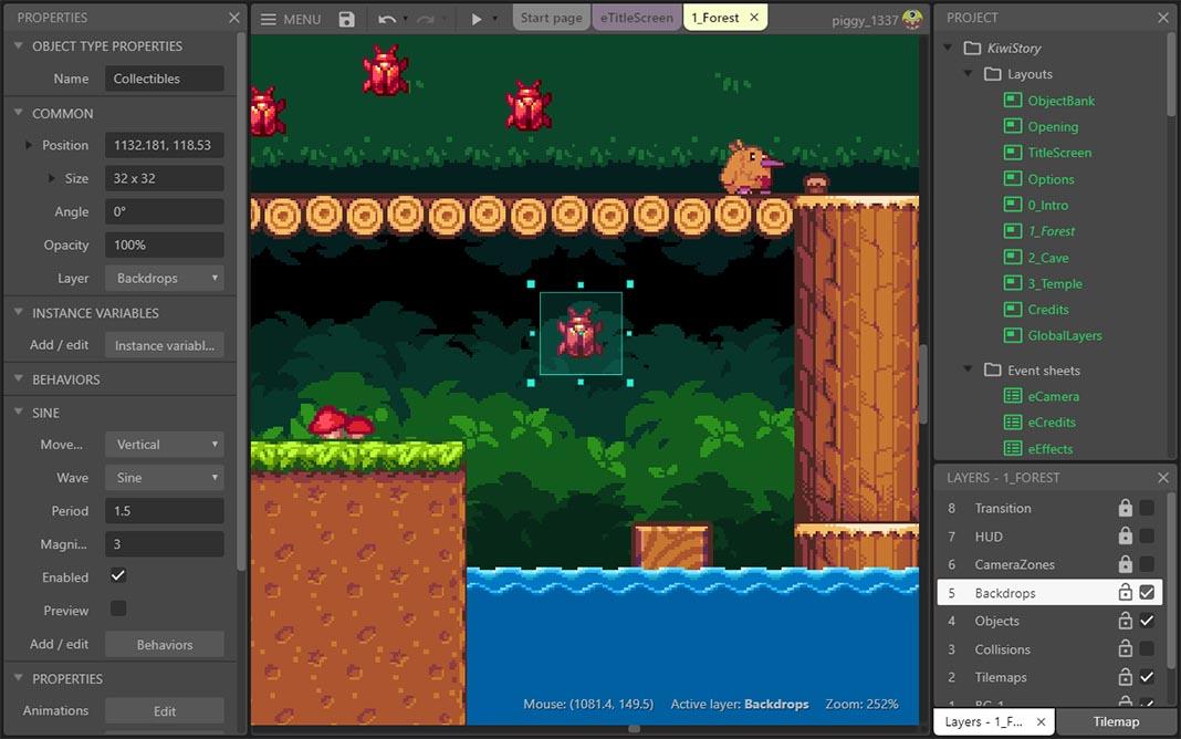 construct 3 Herramientas para crear videojuegos en Android