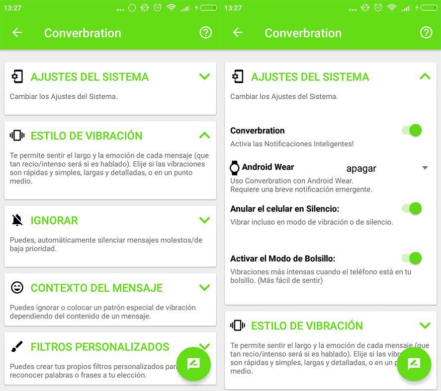 converbration screenshot 1 Entérate de la importancia de los mensajes según la vibración que recibas
