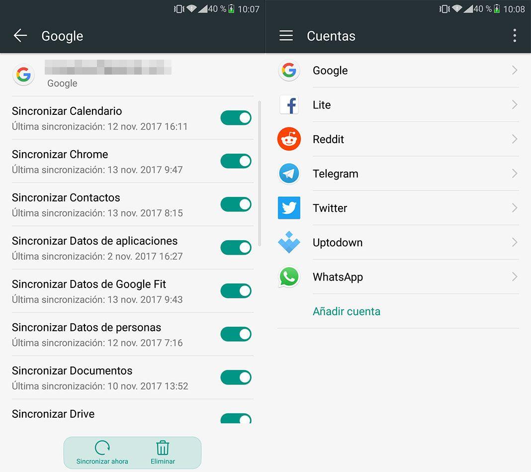 copia seguridad android 1 1 Cómo hacer copia de seguridad de nuestros datos en Android