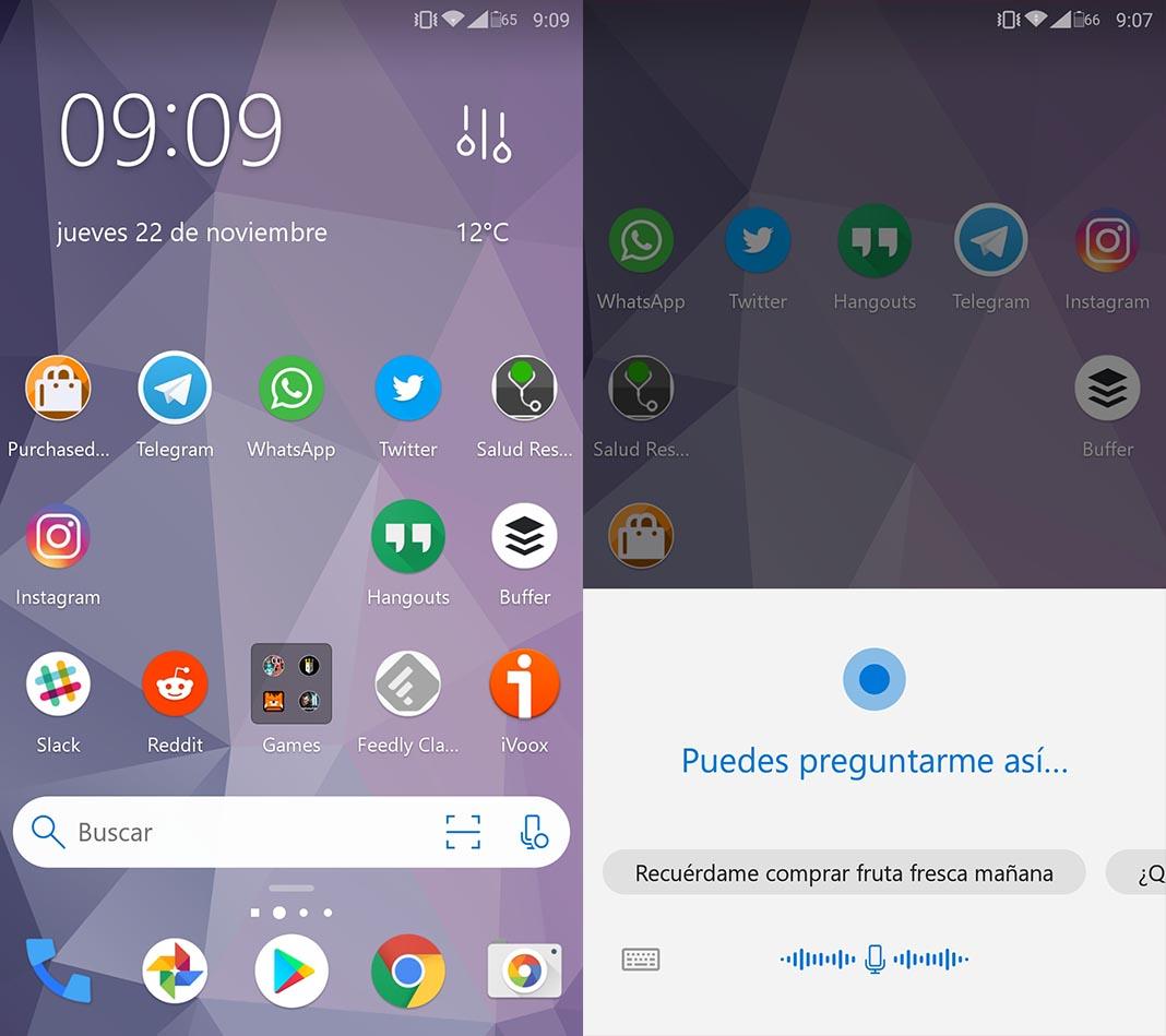 cortana microsoft launcher 2 Cómo usar el asistente Cortana en español desde tu smartphone