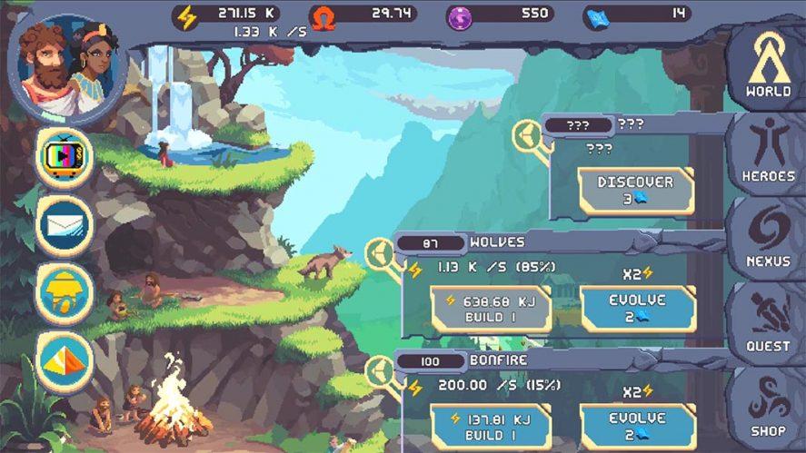Cosmos Quest juegos offline