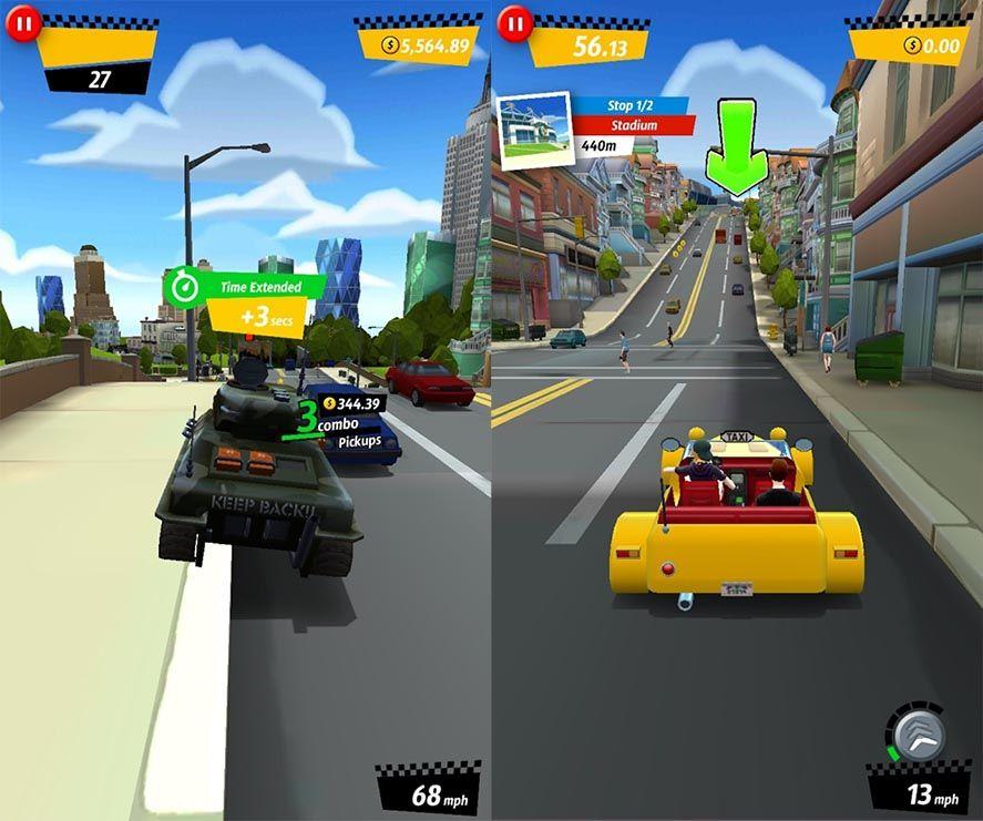 crazy taxi city rush El Crazy Taxi clásico ahora es gratuito en Android