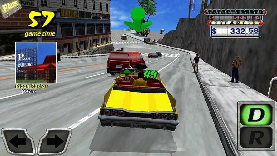 crazy taxi screenshot 1 El Crazy Taxi clásico ahora es gratuito en Android