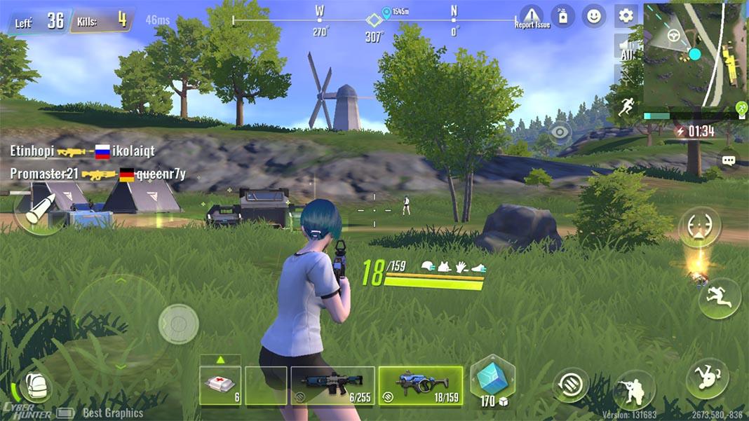 cyber hunter lite screenshot Los diez mejores juegos para Android del mes [junio 2019]