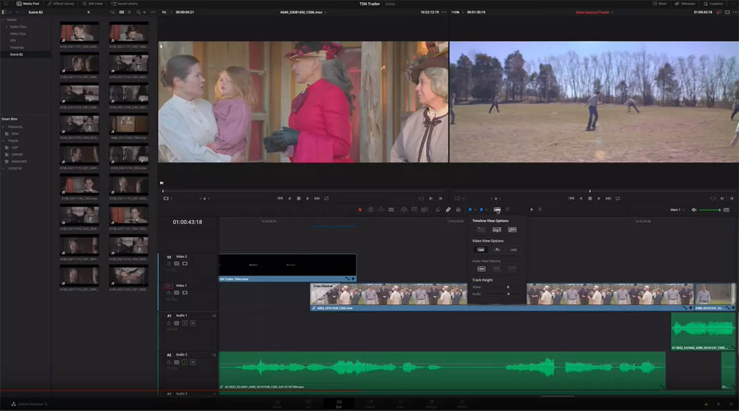 davinci resolve screenshot TOP 10 Video Editing Software