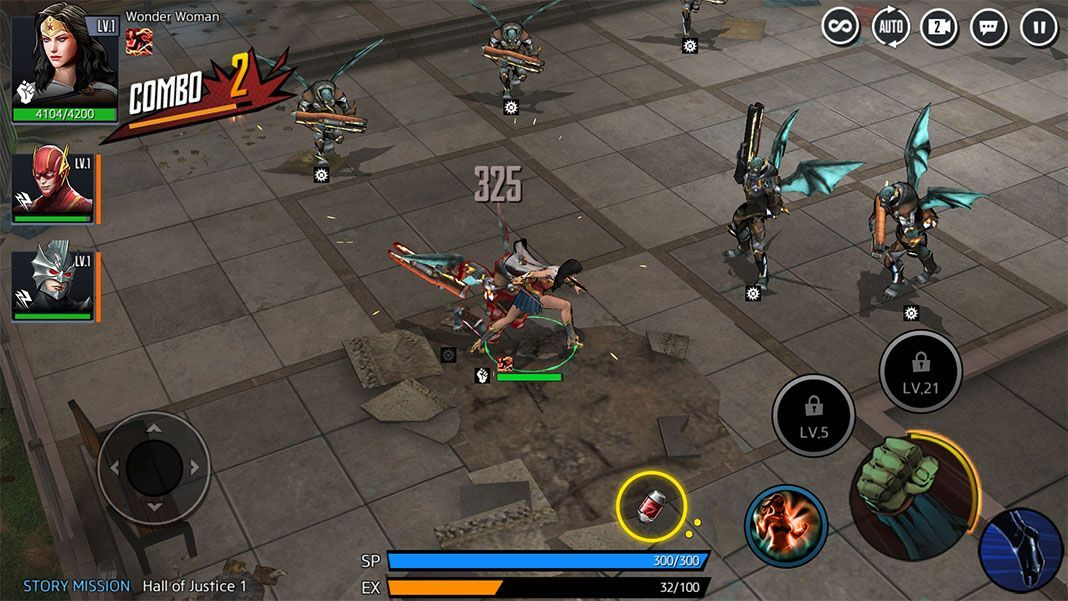 dc unchained feat 2 Ya puedes jugar al nuevo DC Unchained para Android (Actualizado)