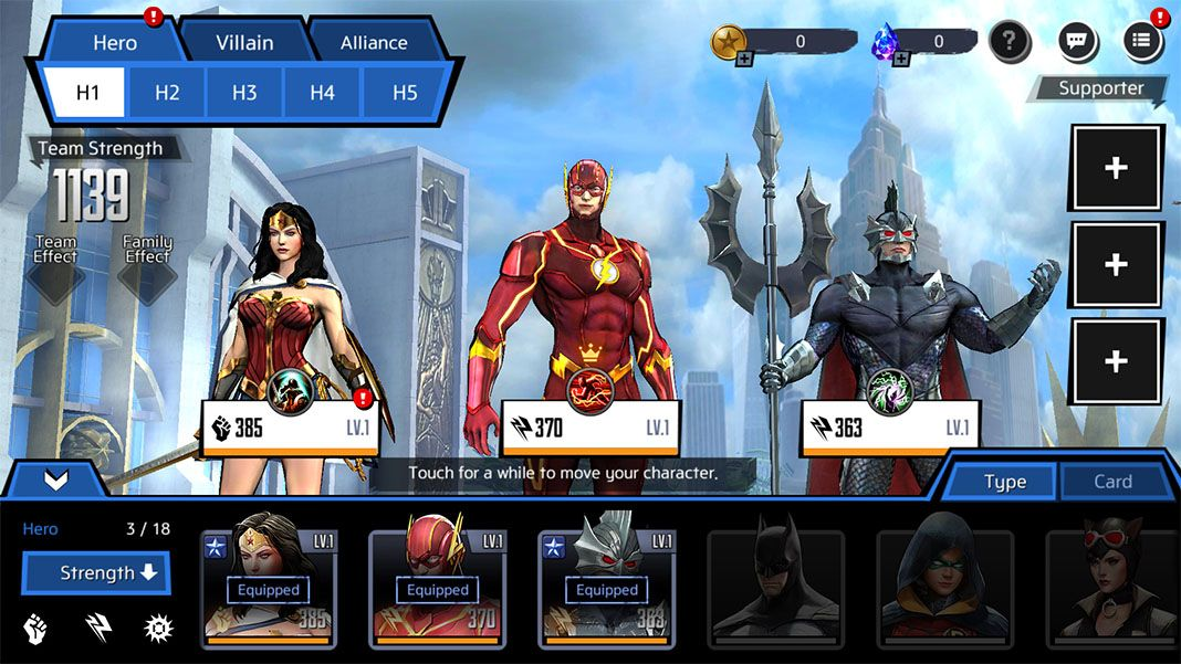 dc unchained feat 3 Ya puedes jugar al nuevo DC Unchained para Android (Actualizado)