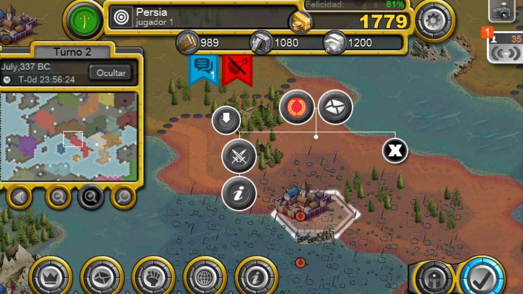 demise of nations screenshot 2 Demise of Nations, estrategia 4X al estilo Civilization para Android