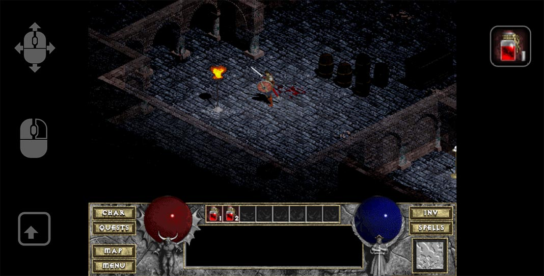 Diablo Android screenshot