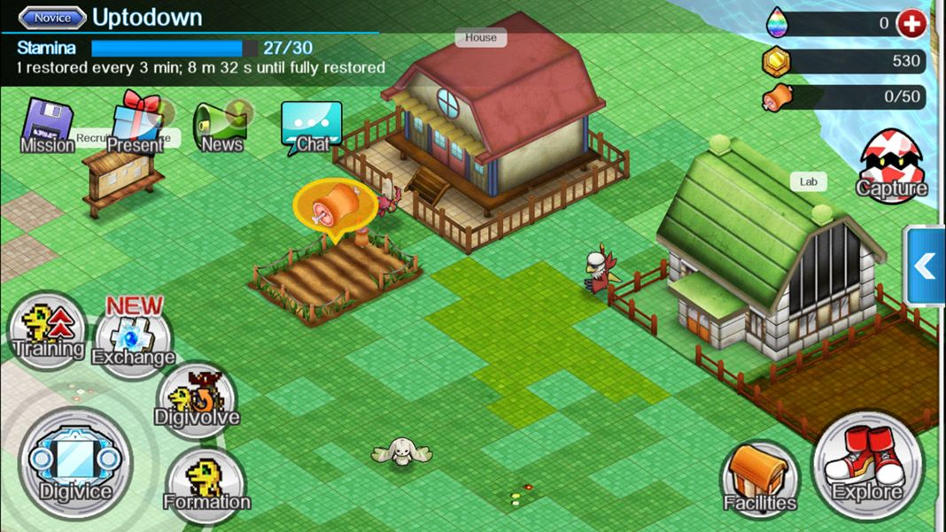 digimon screenshot 2 Descarga el nuevo Digimon Links para Android