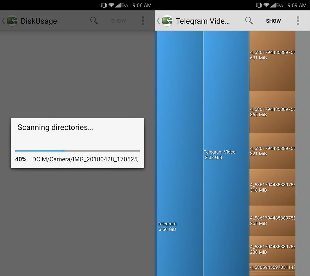diskusage liberar espacio 10 tips to help you free up space on your Android device