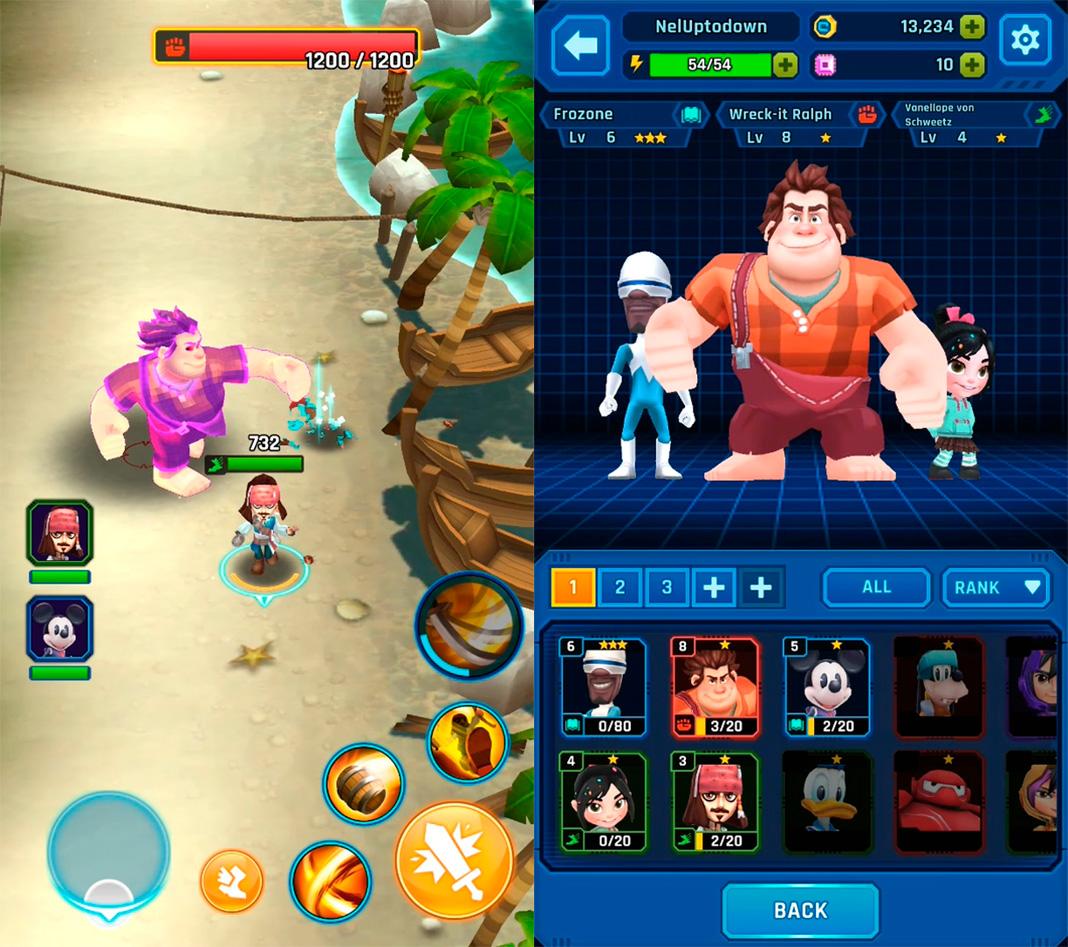 disney epic quest screenshot 2 Los 10 mejores juegos para Android del mes [enero 2019]