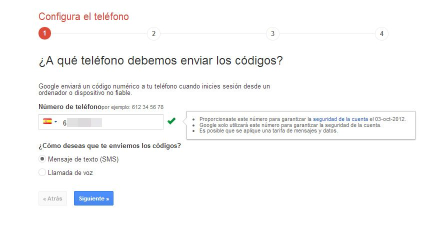 doble proteccion google