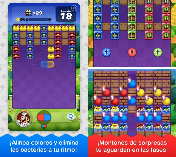 Dr Mario World capturas