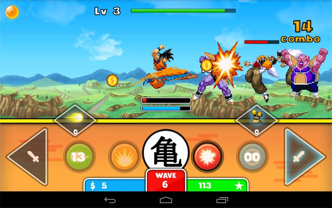 Our list of unofficial dragon ball games for android download apk voltagebd Gallery
