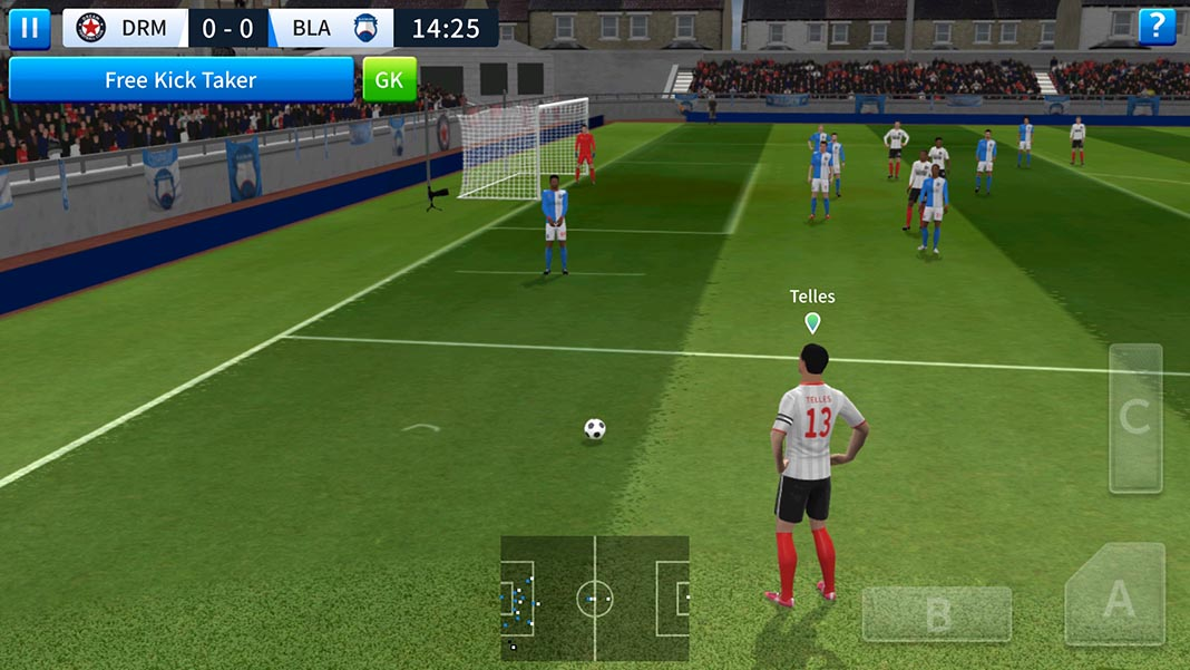 Dream League Soccer 2019 screenshot corner