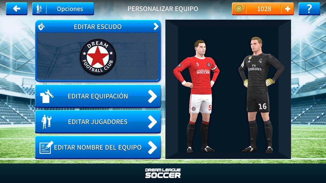 dream league soccer tutorial kits 1 Cómo añadir escudos y equipaciones oficiales a Dream League Soccer