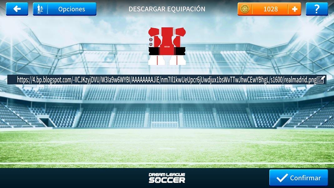 dream league soccer tutorial kits 2 Cómo añadir escudos y equipaciones oficiales a Dream League Soccer