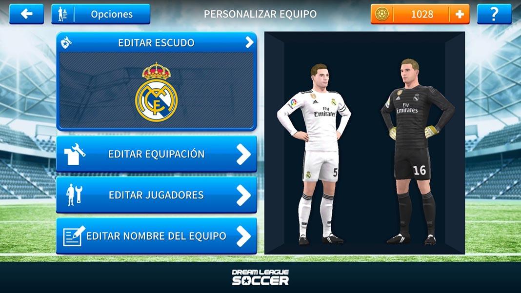 dream league soccer tutorial kits 3 Cómo añadir escudos y equipaciones oficiales a Dream League Soccer