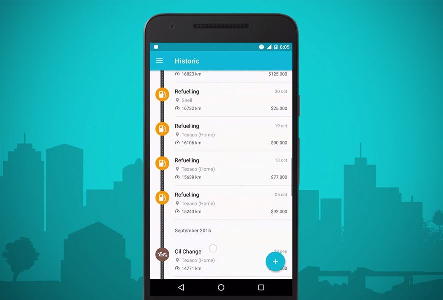 drivvo screenshot featured Drivvo makes managing your vehicle costs a piece of cake