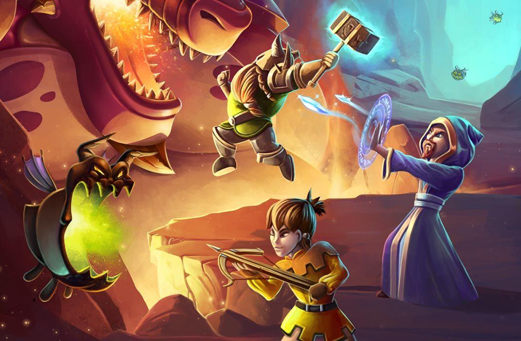 dungeons diamonds featured El estudio Kiloo lanza Dragons & Diamonds para Android